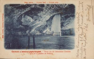 Üdvözlet a Dobsinai-jégbarlangból