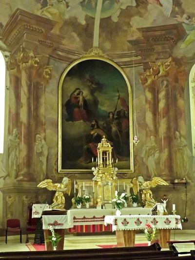 Takács István freskója a mezőkövesdi Szent László templomban 9