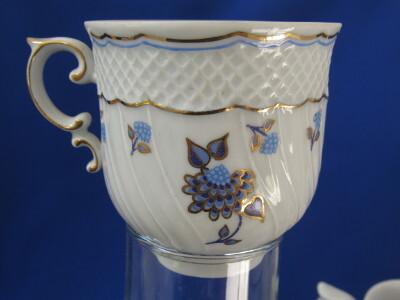 245. Kávés csésze, porcelán