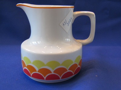 Tejkiöntő, porcelán