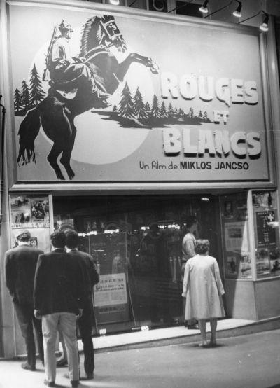 Magyar filmplakát Párizsban