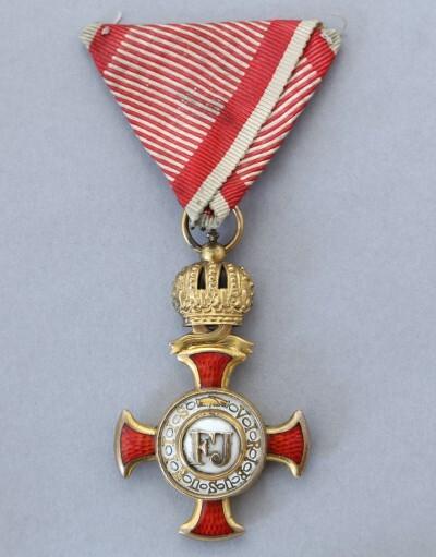 Ferenc József Koronás Arany Érdemkereszt