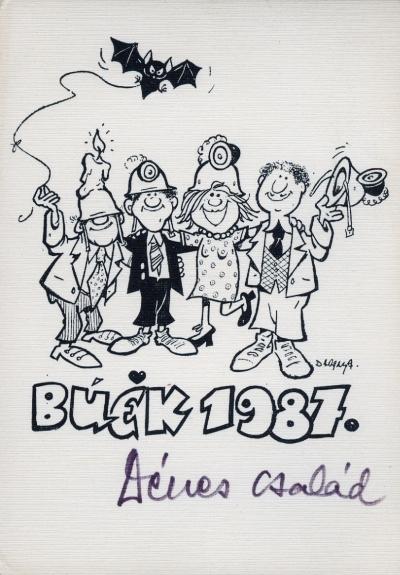 BUÉK 1987.  Dénes Család