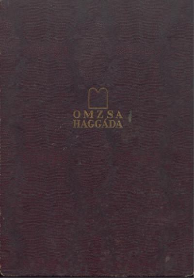 OMZSA Haggada