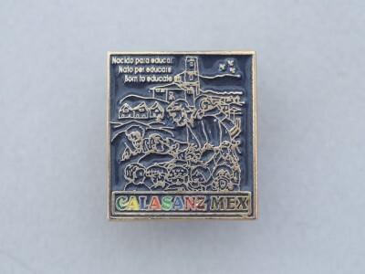 Mexikói piarista kitűző