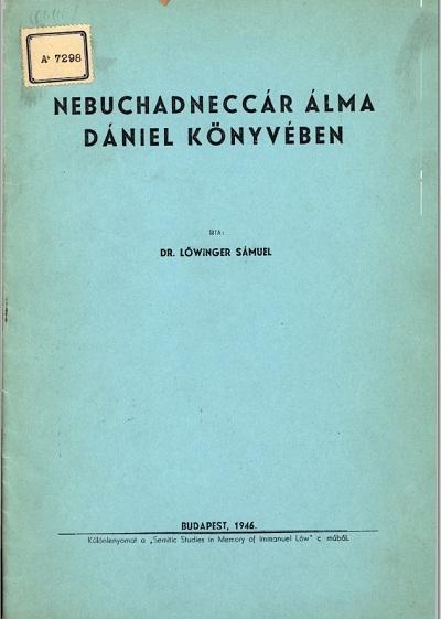 Nebuchadneccár álma Dániel könyvében