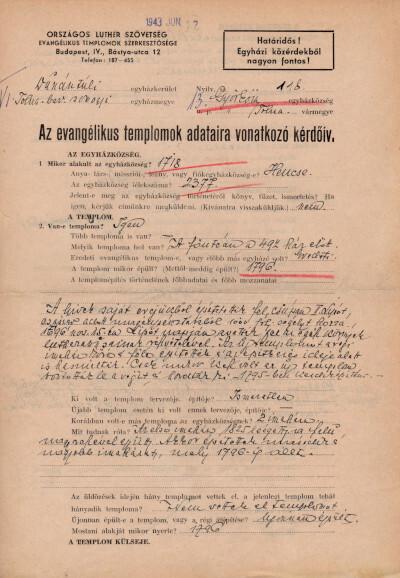 Dunántúli Egyházkerület I. Tolna–Baranya–Somogy Egyházmegye