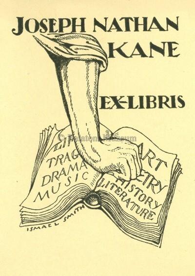 Ex libris Joseph Nathan Kane