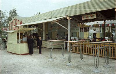 Étterem az Albertirsai úti vásár területén