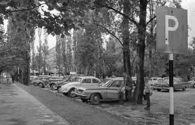 A Hotel Balaton parkolója