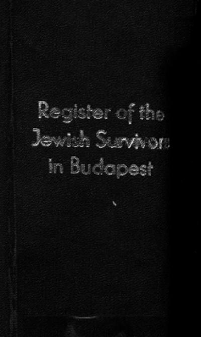 Budapesti túlélők névjegyzéke, 1946.