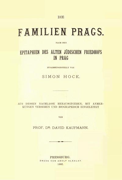 Die Familien Prags.