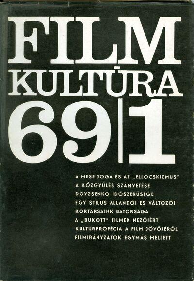 Filmkultúra 1969/1. szám