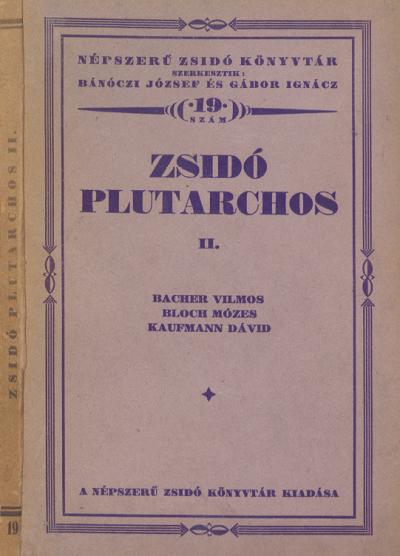 Zsidó Plutarchos, II.