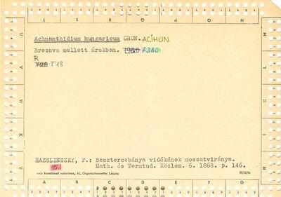 Achnanthidium hungaricum