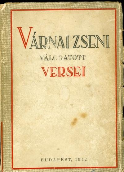 Várnai Zseni válogatott versei