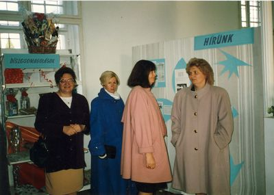 Egykori Kereskedelmi kiállítás MKVM Mezőtúr 1994.