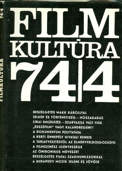 Filmkultúra 1974/4. szám