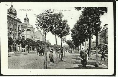 Debrecen Piac utca részlet