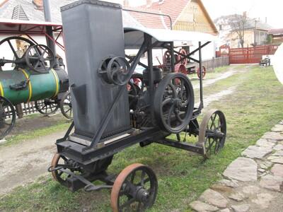 Szilágyi és Diskant típusú lokomobil