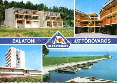 Balatoni Úttörőváros, Zánka