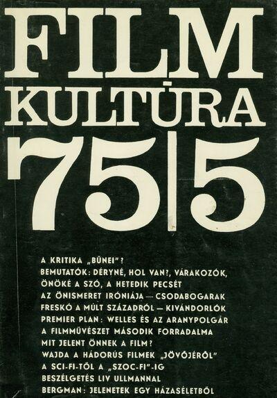 Filmkultúra 1975/5. szám