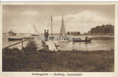 Balatongyörök- Fürdőhely Csónakkikötő
