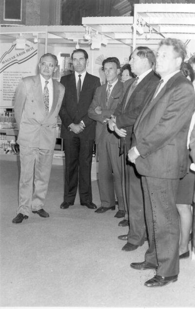 Egykori kereskedelmi kiállítás MKVM Budapest 1992.