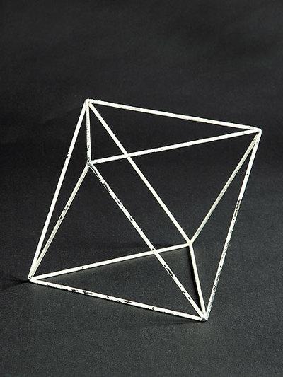Oktaeder (Kantenmodell)