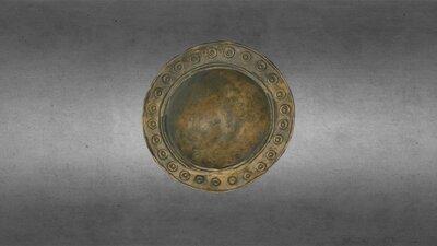 Bronze domed shield boss or phalera, HCA 662