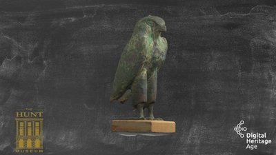 Horus Falcon Figure in Bronze, MG 006