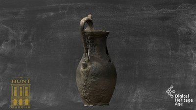 Roman, bronze jug, HCM 156