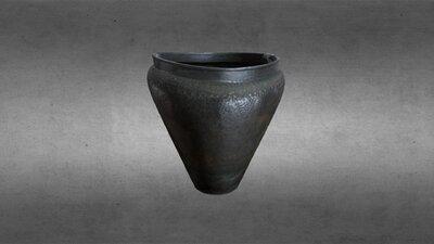 Bronze Age riveted sheet bronze bucket, HCA 460