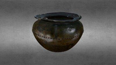 Late Bronze Age, Bronze Cauldron, HCA 458
