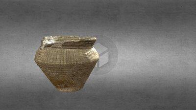 Incised-groove Vase Food Vessel, HCA 609