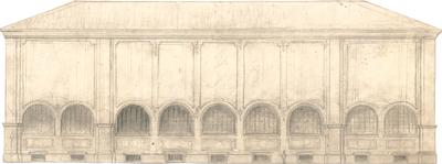 Hildebrand, Adolf von; München; Pinakotheken, Erweiterung - Ansicht