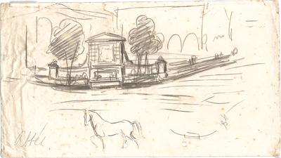 Hildebrand, Adolf von; Brunnenskizzen aus der frühen Zeit - Ansicht