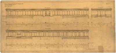Billing, Hermann; Frankenthal, Zuckerfabrikstr.; Zuckerfabrik, Umbau Verwaltungsgebäude - Hauptbau (Schichtenplan)