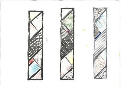Schneider - Esleben, Paul; Hückelhoven - Baal (Kreis Heinsberg); Aussegnungshalle - Entwurf: Glasfenster