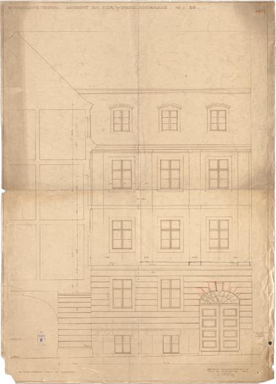 Bestelmeyer, German; Bonn (Nordrhein-Westfalen), Mühlheimerplatz; Verwaltungsgebäude - Mappe 2: Teilansicht