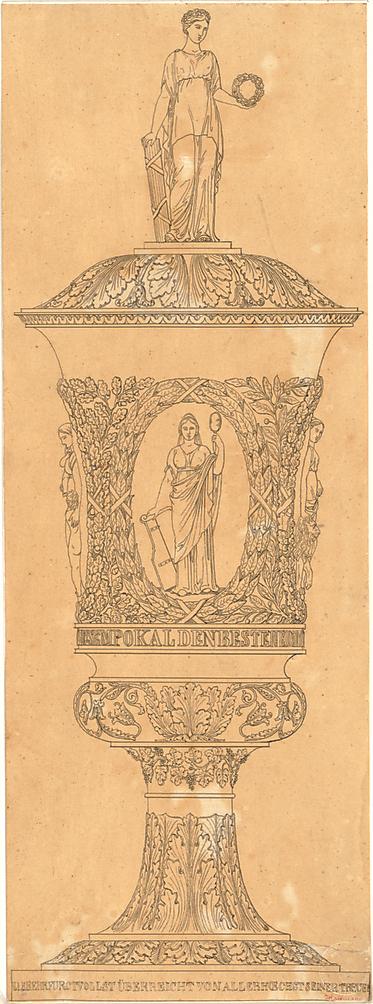 Hoffmann, Lorenz; Pokal - Ansicht