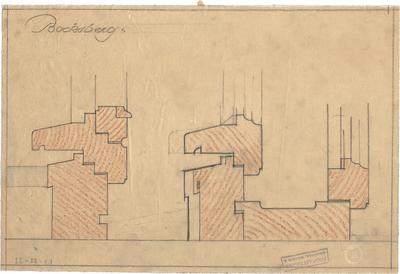 Littmann, Max; Bocksberg; Hofgut, Wohnhausanbau - Details