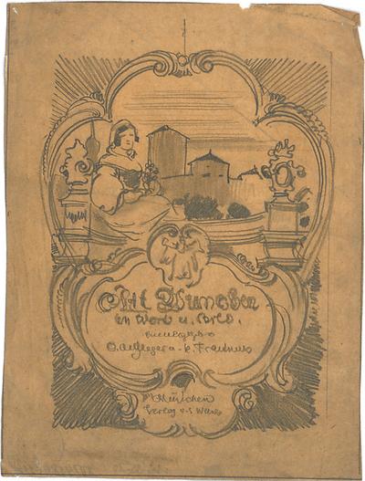 Pfann, Paul; Graphische Entwürfe - Titelbild (Ansicht)