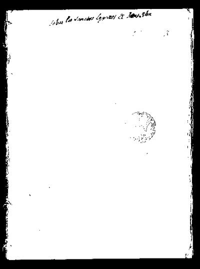 Despachos, cartas y relaciones sobre la custodia de los Santos Lugares / presentadas por Fray Juan Sánchez de Herrera