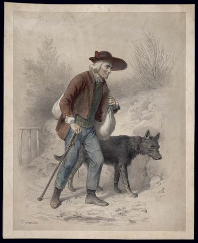 Contrebandier et son chien