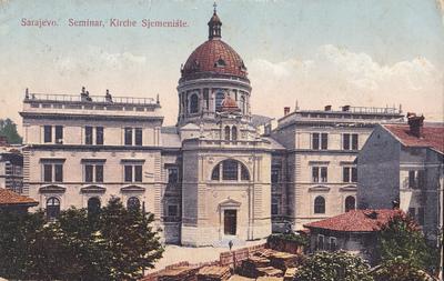 Sarajevo. Seminar, Kirche Sjemenište