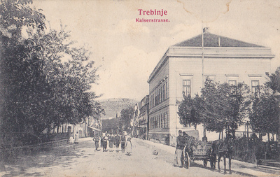 Trebinje. Kaiserstrasse