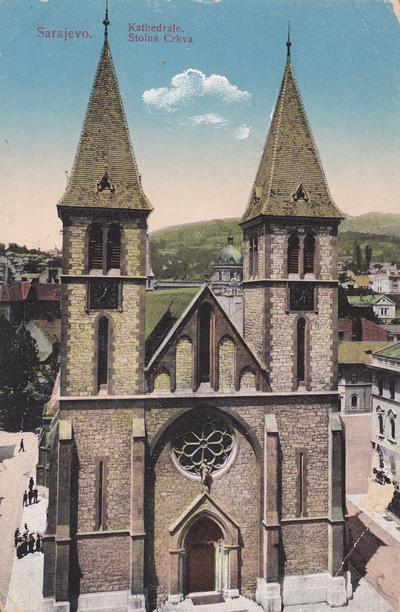 Sarajevo. Kathedrale. Stolna Crkva