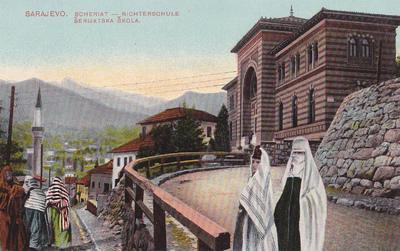 Sarajevo: Scheriat - Richtenschule - Šerijatska škola