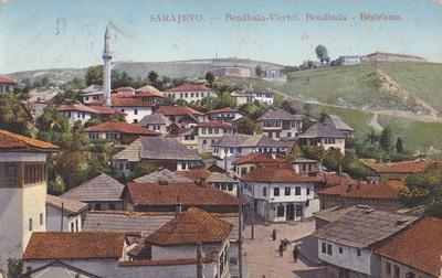 Sarajevo. Bendbaša - Viertel